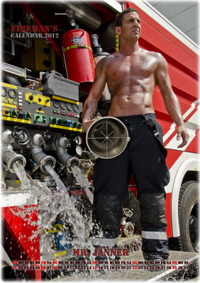Mr. Jänner - Wiener Feuerwehr-Kalender 2012