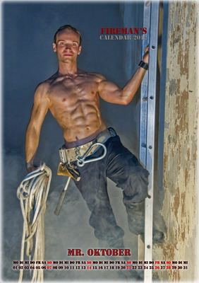 Mr. Oktober - Wiener Feuerwehr-Kalender 2012