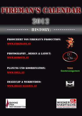 Fireman's Calendar 2012 - History