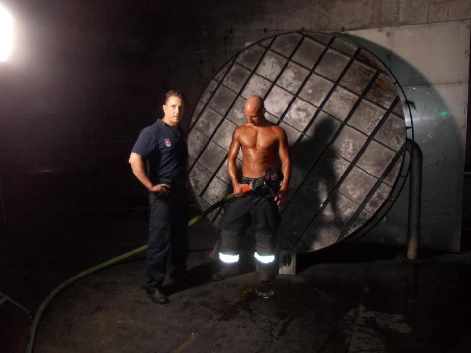 Making of Feuerwehrkalender 2014 - 1