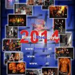Backside Wiener Feuerwehr-Kalender 2014