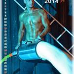 Feuerwehrmänner Kalender Wien 2014 Juli