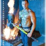 Feuerwehrmänner Kalender Wien 2014 August