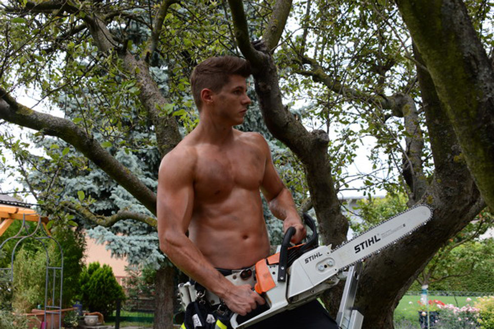 Stihl Chainsaw Calendar Girls Related Keywords & Suggestions - Stihl ...