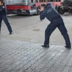 Fotograf Otti beim Fotoshooting Wiener Feuerwehr-Kalender 2015