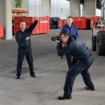 Letzter Shooting-Tag Fotoshooting Wiener Feuerwehr-Kalender 2015