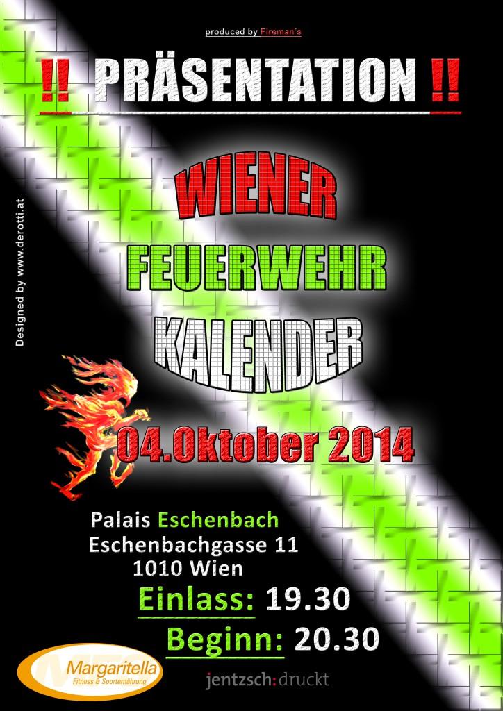 Plakat Kalenderpräsentation 4.10.2014