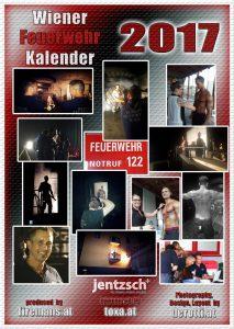 Rückseite Fireman's Calendar Berufsfeuerwehr Wien 2017