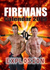 Feuerwehr Kalender 2019 mit Models der Berufsfeuerwehr Wien