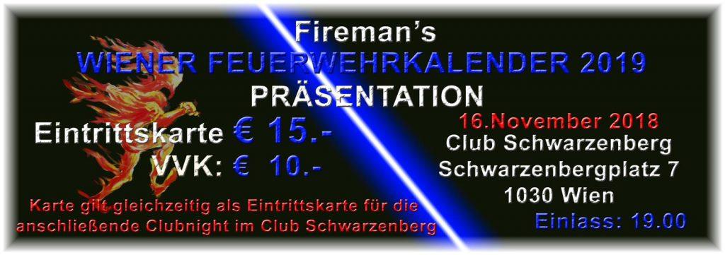 Ticket-Info Präsentation Feuerwehr-Kalender