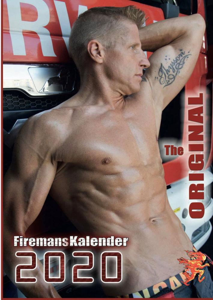 Feuerwehr Kalender Wien 2020 Cover