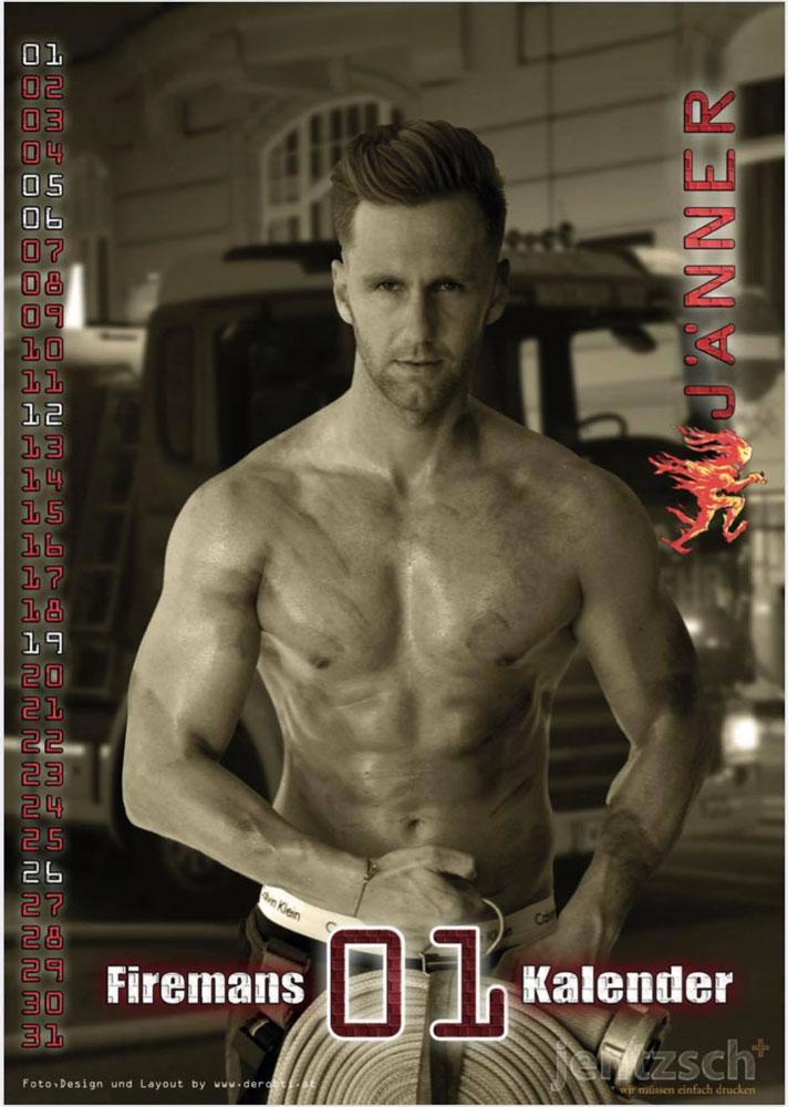 Feuerwehrmänner Kalender 2020 Preview